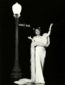 Gloria Swanson in -1950-Sunset Boulevard