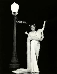 Gloria Swanson in -1950-Sunset Boulevard